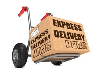 Amazon orders forwarded