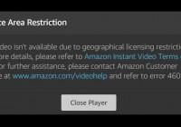 Service Area Restriction