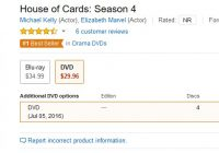 House of Cards on Amazon